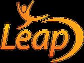 leap with coacing logo